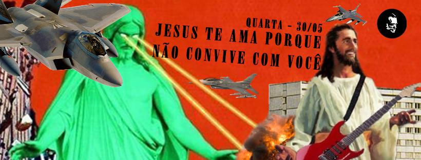 jesus te ama porque não convive com você