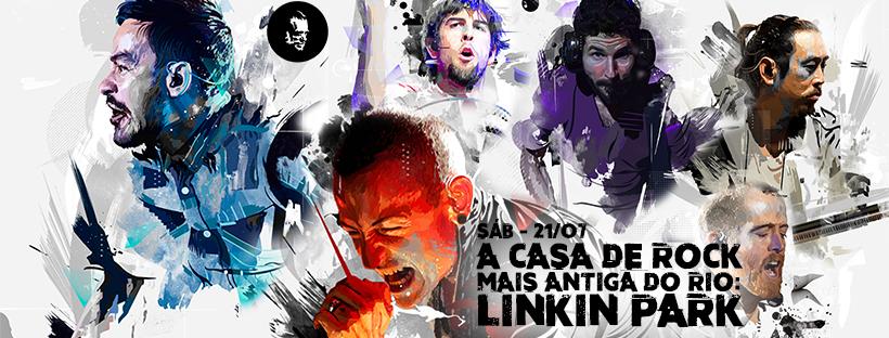 A Casa de Rock Mais Antiga do Rio: Linkin Park